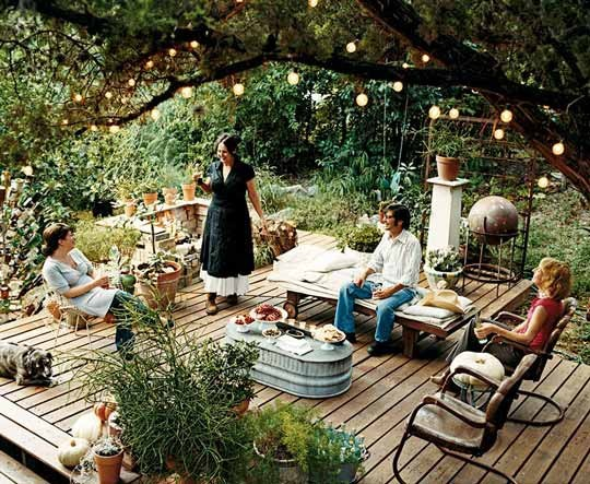 Country Living Backyard Ideas : country sweetness via country living