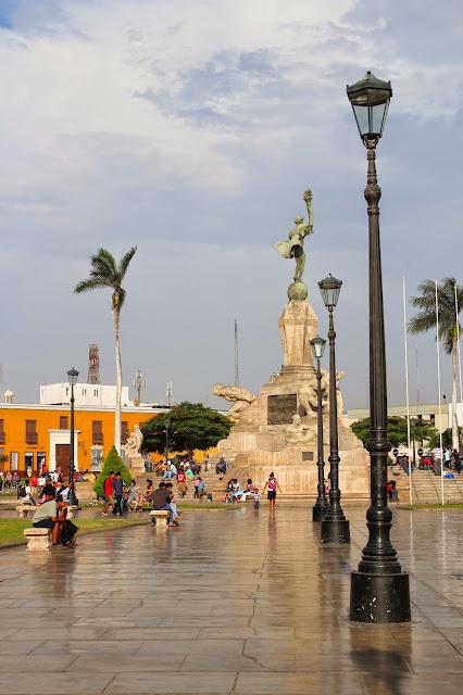 Trujillo Peru Plaza de Armas