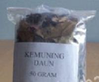 obat tradisional herbal daun kemuning kering