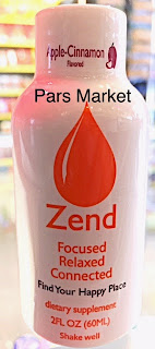 Zend Brand Kava 2fl oz drink Available at Pars Market Columbia Maryland 21045