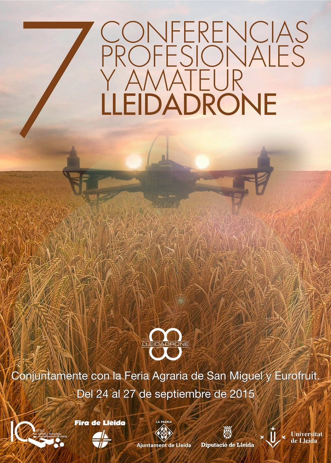 7 Conferencias Lleida Drone