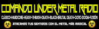 COMANDO UNDER METAL RADIO