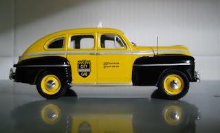 colección taxis del mundo Ford Fordor Sedan