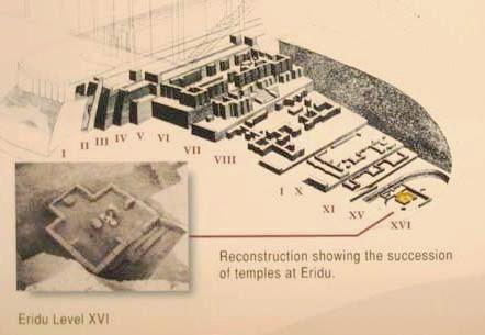"Eridu, the First City on Earth where the Sumerian Kings ""from Heaven"" ruled X_eridu_swiatynie"