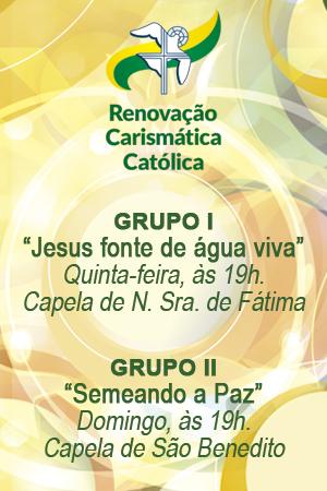 GRUPOS DE ORAÇÃO RCC