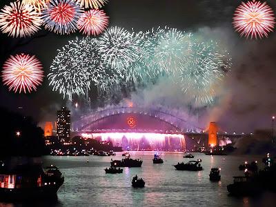 صور احتفالات راس السنة 2020