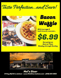 Winter Special at Mel's Diner in Jackson