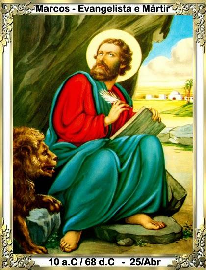 Resultado de imagem para Evangelista São Marcos