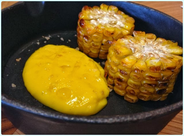 Restaurant Story, London - BBQ Corn