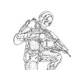#7 G.I. Joe Coloring Page