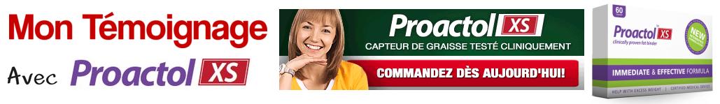 Mon témoignage avec Proactol