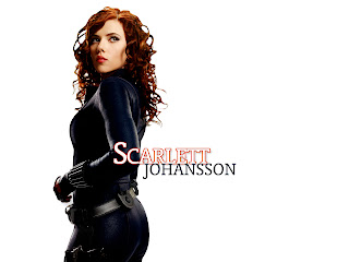 Scarlett Johansson Leather Dress Iron Man Movie HD Wallpaper