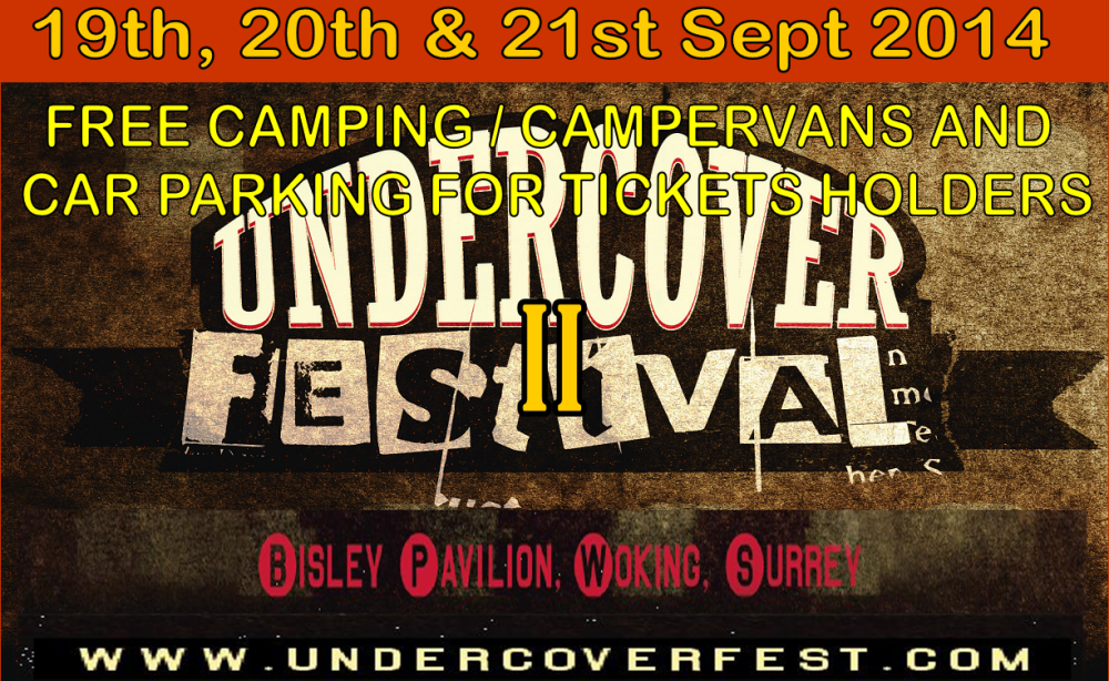 The Undercover Festival announces Saturday Line up