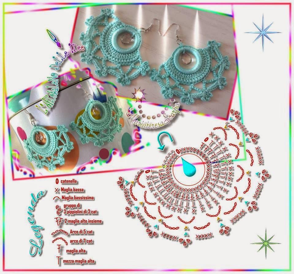 Melissa melina crochet bijoux au crochet - Bijoux au crochet modele gratuit ...