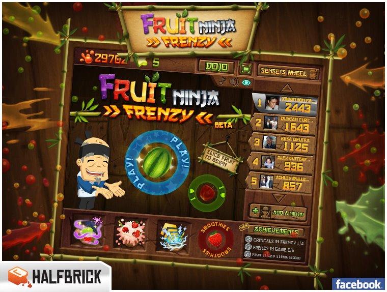 Fruit Ninja Frenzy Para Pc