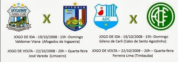 Campeonato Pernambucano Série A2: Semi-Finais definidas