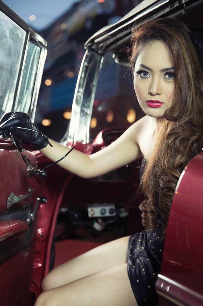 Galeri Foto Cinta Ratu Nasya di Majalah MALE Juli 2014