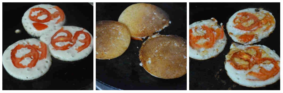mini tomato uthappam