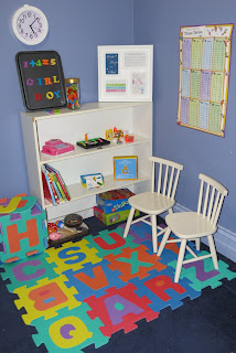 kids room space reading corner study nook