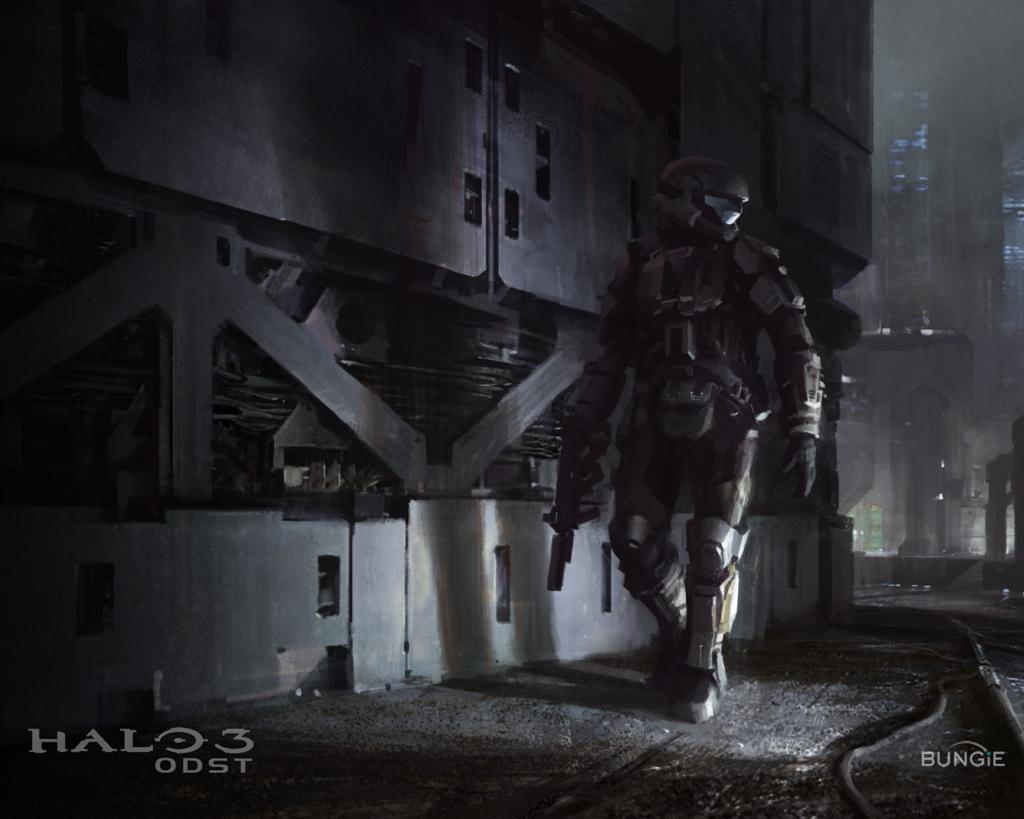 Halo HD & Widescreen Wallpaper 0.767049245191764