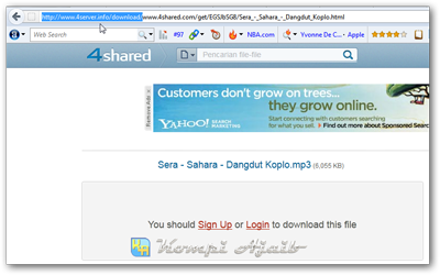 Thumbnail Cara Download Di 4Shared Tanpa Login 7