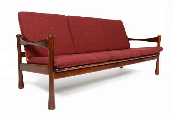 Modern Danish Love Seat