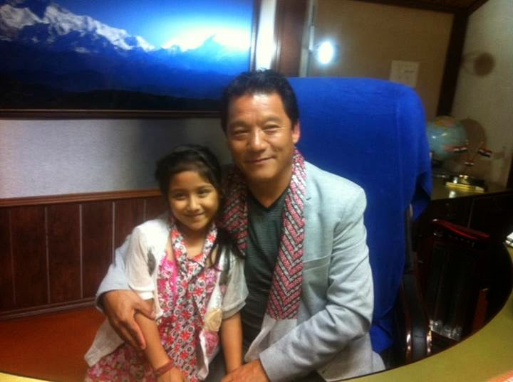 Anushka Chhetri with Bimal Gurung
