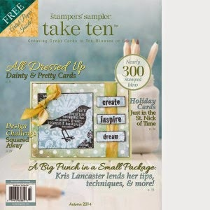 Published in Take Ten Autumn 2014