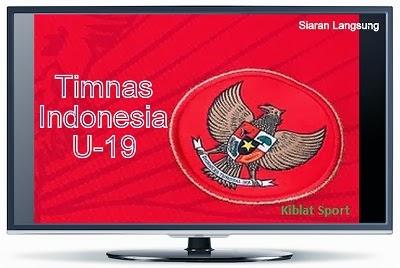 Jadwal Siaran Langsung Uji Coba Timnas Indonesia U19 Tour Nusantara 2014
