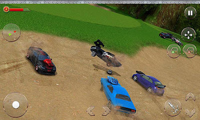 Download Car Crash League 3D MOD APK v1.1 Original Version Terbaru Juni 2017 Gratis