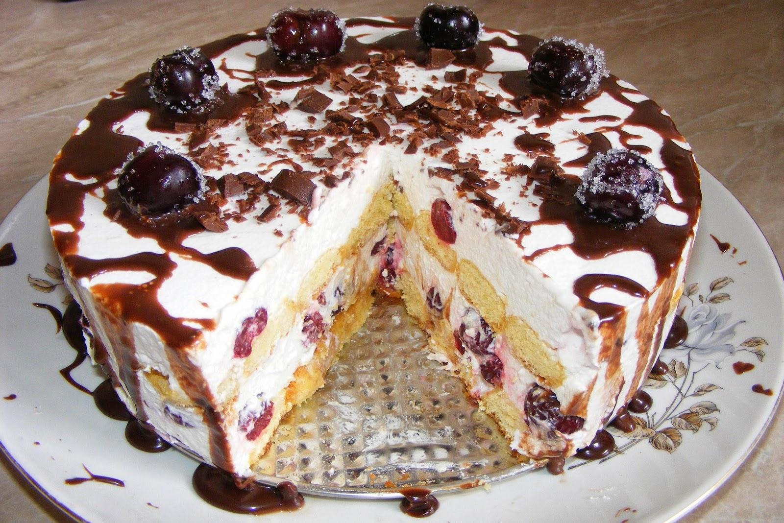 tort, torturi, prajitura, prajituri, dulciuri, deserturi, tort cu visine, tort cu piscoturi, tort de visine si piscoturi, prajitura cu visine, tort cu fructe, reteta tort, retete de tort, retete torturi, torturi de casa, retete culinare, preparate culinare,