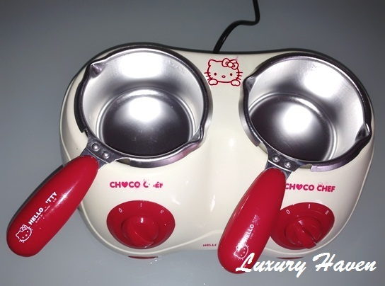 hello kitty choco chef review