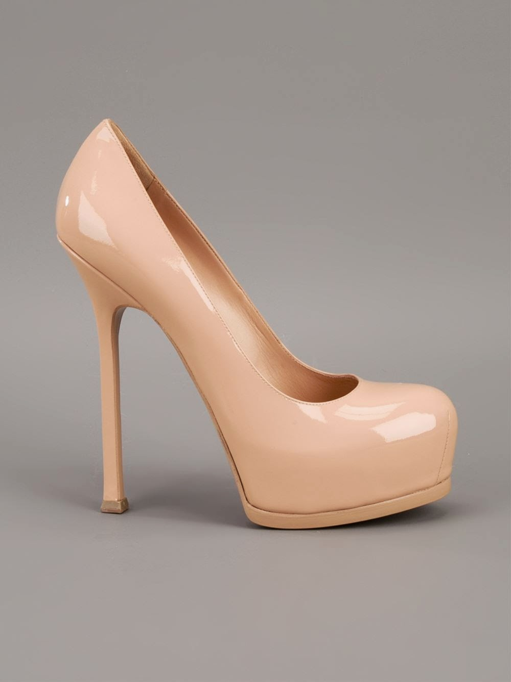 Yves Saint Laurent Tribtoo Patent Pumps