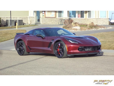 2016 Chevrolet Corvette Z06 at Purifoy Chevrolet