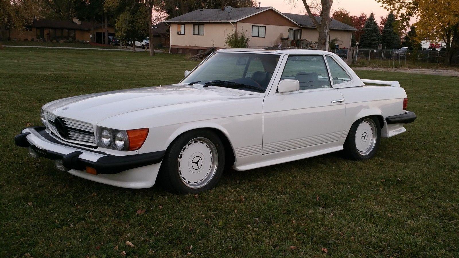 1979 mercedes benz r107 450 sl amg benztuning for Mercedes benz ml 450
