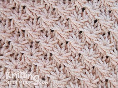 Knitting Daisy Stitch Pattern : Daisy Stitch Knitting Stitch Patterns