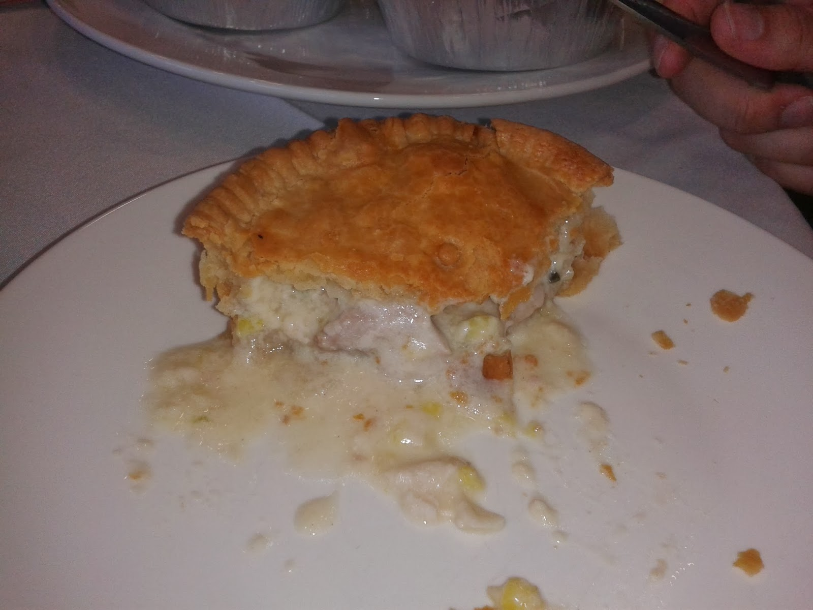 Morecambe Fc Chicken Ham And Leek Pie