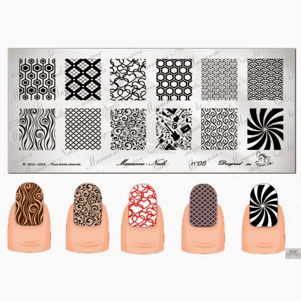 Lacquer Lockdown - Marianne Nails Nail Art Stamping Plates, Marianne nail art plates, marinane stamping plates, nail art, nail art stamping blog, new nail art stamping plates 2014, new nail art image plates 2014, new nail art plates 2014, stamping, new nail plates 2014, diy nail art, cute nail art ideas, new nail art ideas
