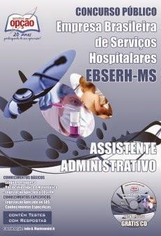 Apostila Concurso HU/UFMS EBSERH 2014 para assistente administrativo do HUMAP.