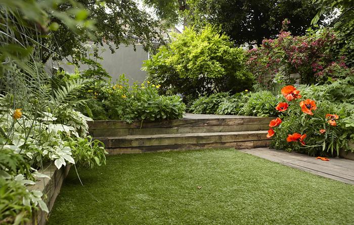 Estilo rustico jardin rustico for Adornos para jardines rusticos