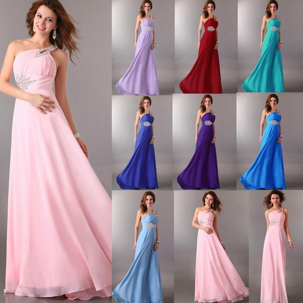 Hermosos vestidos de fiesta 2014