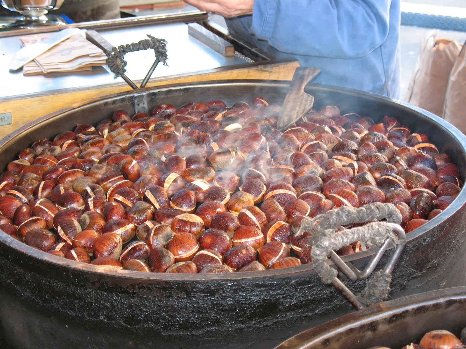 HOT chestnuts (and hot spicy nuts too)