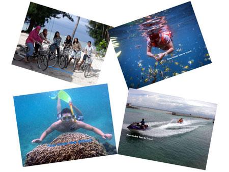 Kegiatan Wisata di Pulau Tidung