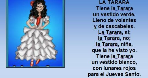 Tiene la tarara un vestido blanco