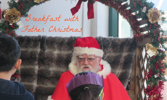 Breakfast With Father Christmas at Wyevale