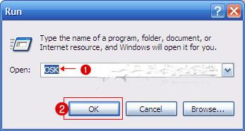 Windows tips Sử dụng bàn phím ảo để bảo vệ mật khẩu