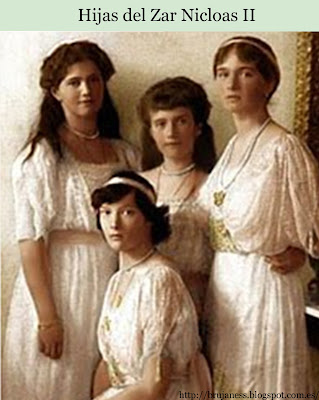 Nicolas II hijas perlas daughters pearls necklace famous anastasia Анастасия