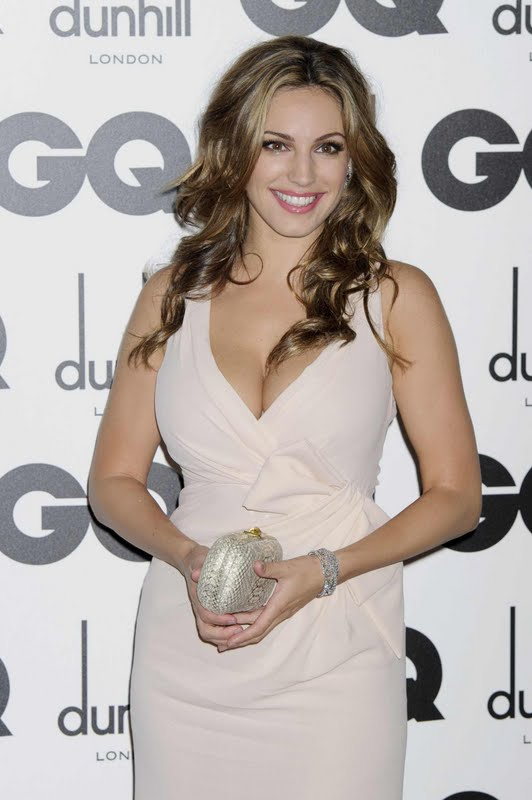 Kelly Brook at 2011 GQ Men of the Year Awards