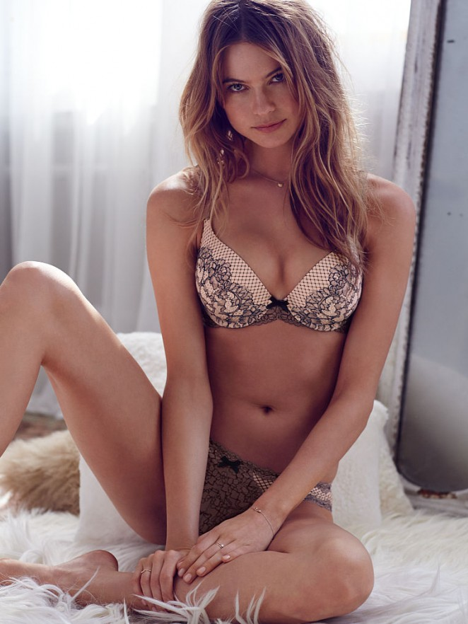 Behati Prinsloo mesmerises for the Victoria's Secret June Latest Lookbook