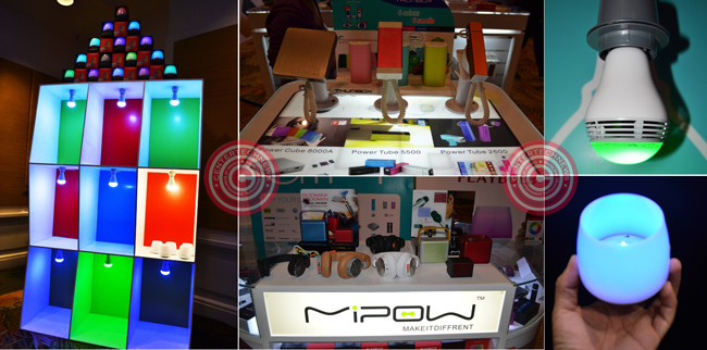 MiPOW, the global leader for providing premium mobile device accessories and authorized manufacturing licensee of Apple Inc